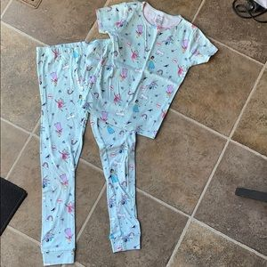 Carters size 10 girls pajamas